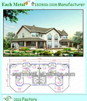 Well designed luxury prefabricated house, vacation home for family