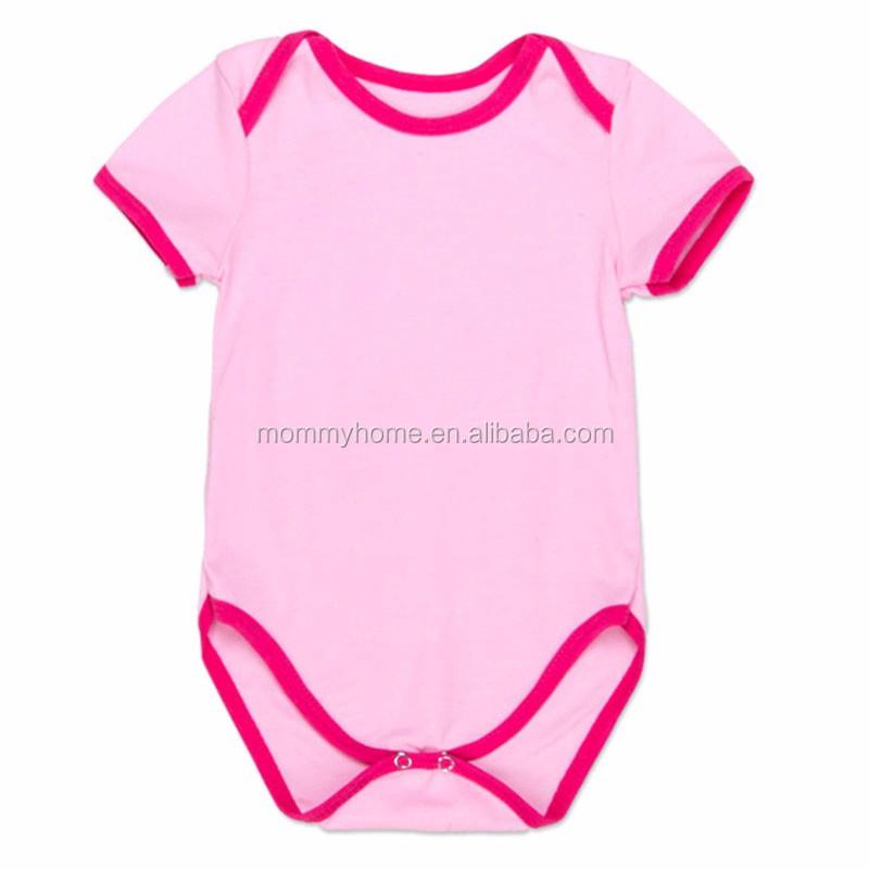 9f0290ab7269 Plain romper baby clothes soft cotton onesie blank bodysuit romper M7031101