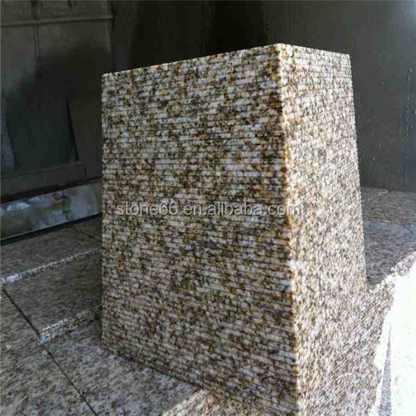 G350 granite paving | cobblestone on mesh