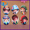 New Arrival Smartphone Case Lovely Baby Oval Flat Back Picture Glass Kawaii Cabochons