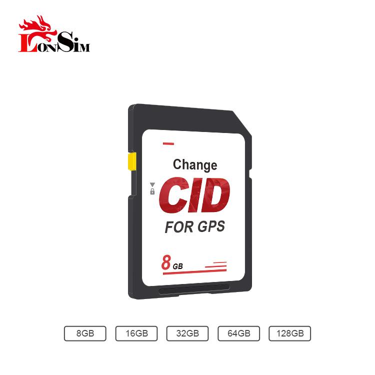 OEM Change CID Black Custom CID SD Card Write/Clone CID 16gb