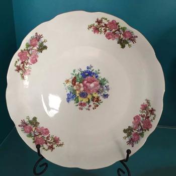 Hotel used dinner plates / Embossed soup platestoneware ceramic salad platesdishes sets & Hotel Used Dinner Plates / Embossed Soup PlateStoneware Ceramic ...