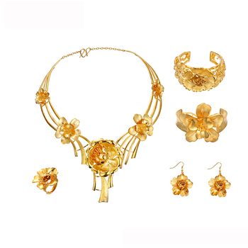 b7235cce4 201802 xuping fine jewelry new design gold plated luxury wedding engagement  jewelry sets