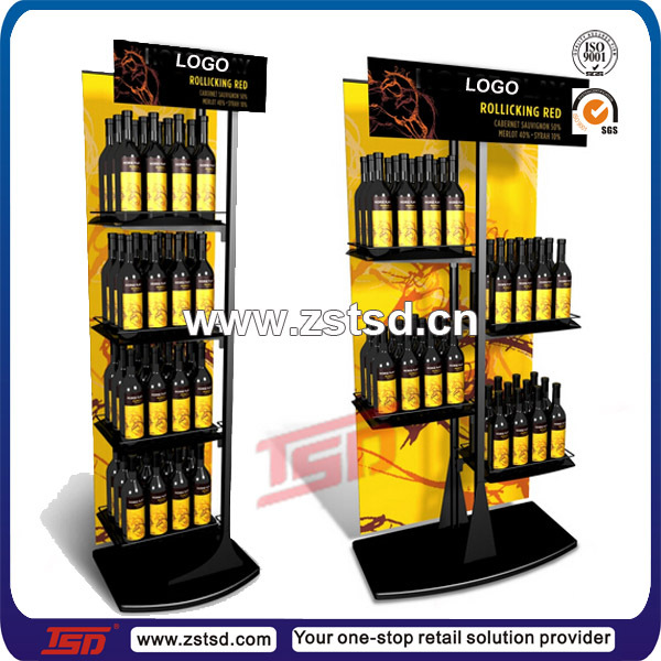 Mdf Wooden Floor Displays Stand Shelf Design Ideas For Wine Liquor Beverages Buy Displays Design Ideas For Winefloor Displays For Liquordisplay