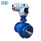 LPG Gas API Electric Actuated Remote Control A216 WCB Floating 2 pieces Ball Valve