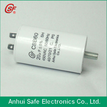 well pump capacitor 20uf 450vac cbb60 ac motor capacitor. Black Bedroom Furniture Sets. Home Design Ideas