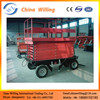 14m Hydraulic jacks motorcycle lifts electric scissor lift mobile lift platform WLY0.3-14