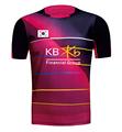 2016 New KOREA Men s Woman badminton shirt sports Badminton shirt Lee Yong Dae Jerseys badminton