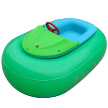 Electric kids water paddle boat inflatable bumper boat