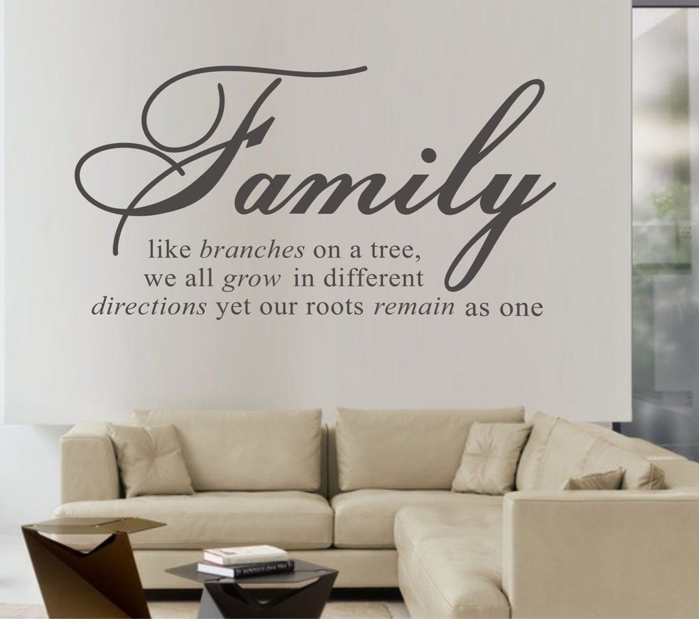 Family Like Branches On A Tree...Wall Papers Home Decor