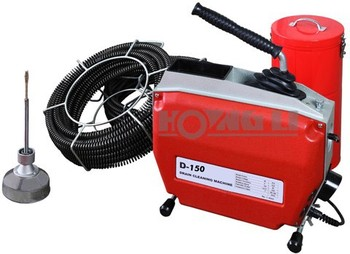 D150 Electric Snake Pipe Drain Cleaning Machine Clogged