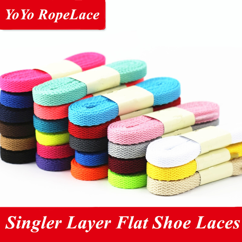 2017 Fuzhou YoYo Custom Shoelace Flat Shoe Laces for Yeezy 350 Boost