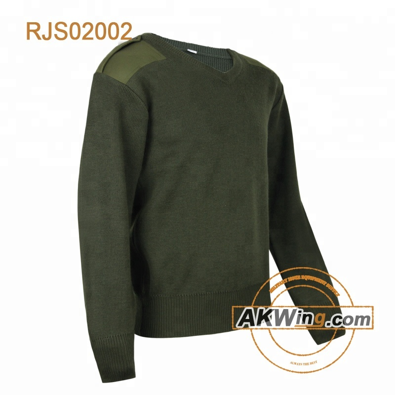 Vert Olive pull commando tactique jersey Pull Militaire