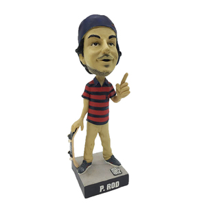 Hand painted personal resin sport bobble head