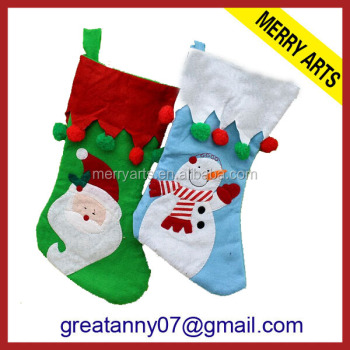 cross stitch christmas stocking ornament kits diy felt christmas decoration craft kit