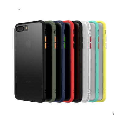 Original fühlen handy fall frosted tpu pc anti-tropfen shell fall für iphone x xr xsmax xs 8 7 6plus