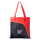 Custom Logo Printed Insulated Shopping Cooler Tote Bag With Front Pocket