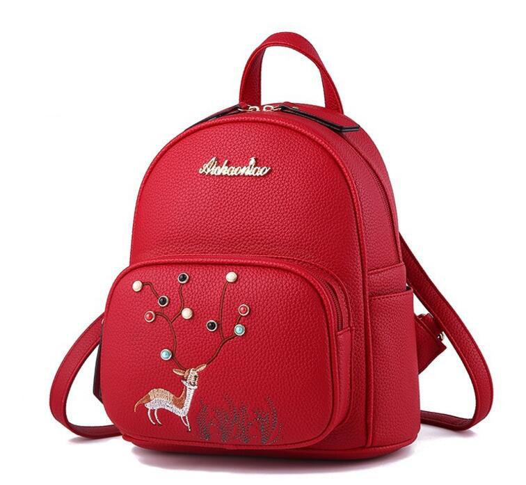 bde2f06e1059 Jianuo Popular Backpacks Ladies Women School Bags Trendy Backpack ...
