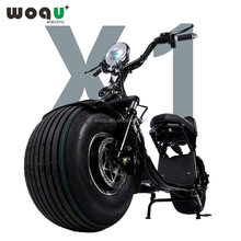 WOQU Original Factory 72V16H 1200W EEC Electric Motorcycle Scooter 1200w Citycoco Scooter Model X1-7216
