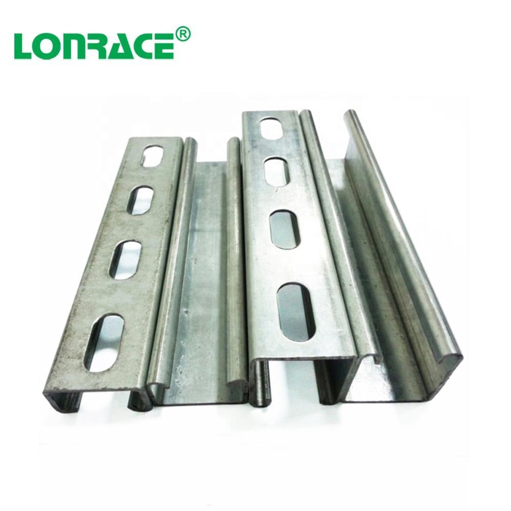steel strut channel standard sizes