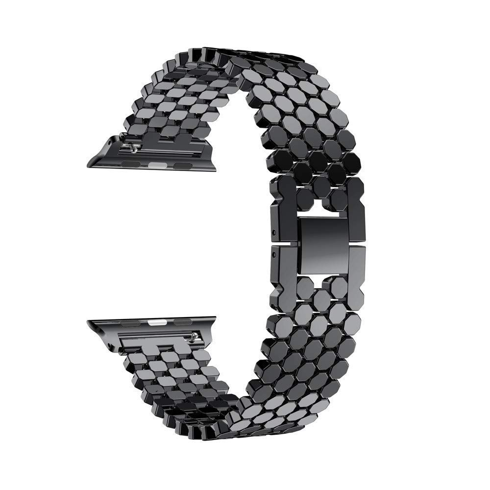 Accessory for Apple Watch Serise 4!!!Kacowpper New Fashion Replacement Stainless Steel Watch Band Loop Strap for Apple Watch Series 4 44mm/40mm!!Halloween Hot Sale!!!