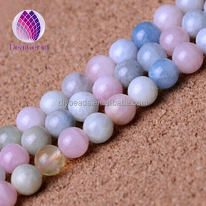 wholesale loose gemstone type natura beads pink beryl