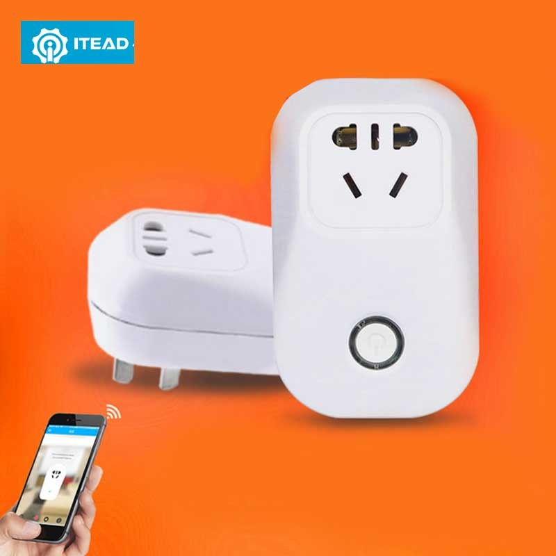 ITEAD Sonoff S20 Phone WIFI Smart Socket Remote Control Smart Home Power Socket EU/US/UK Standard Charging Adapter HOT