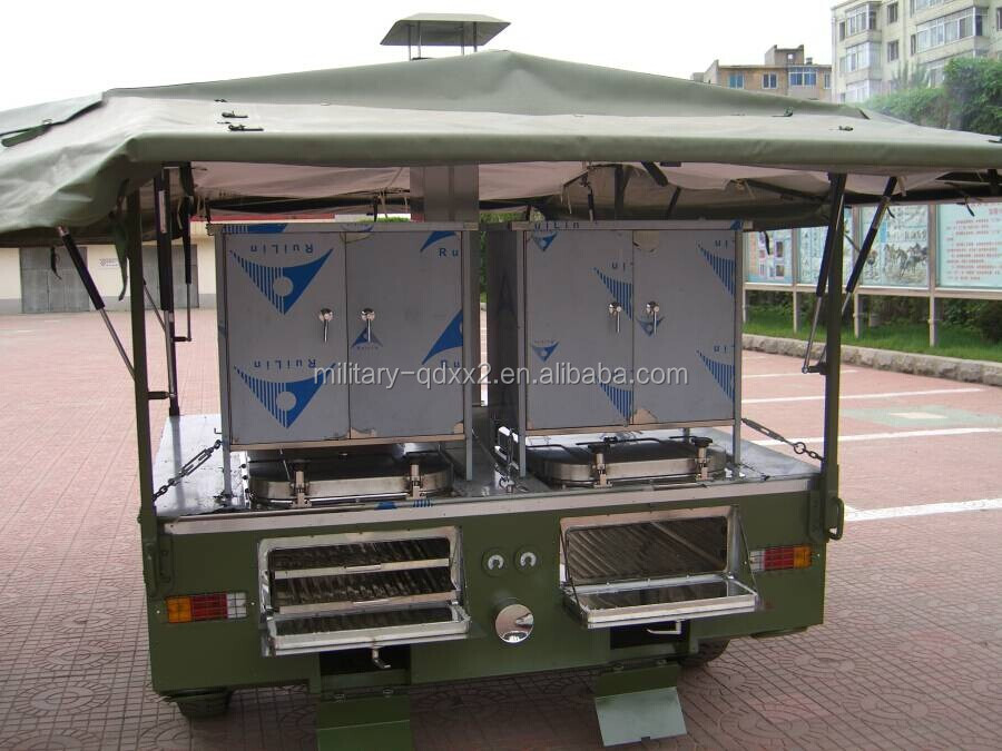 Military Mobile Kitchen Trailer For 250 People Buy Mobile