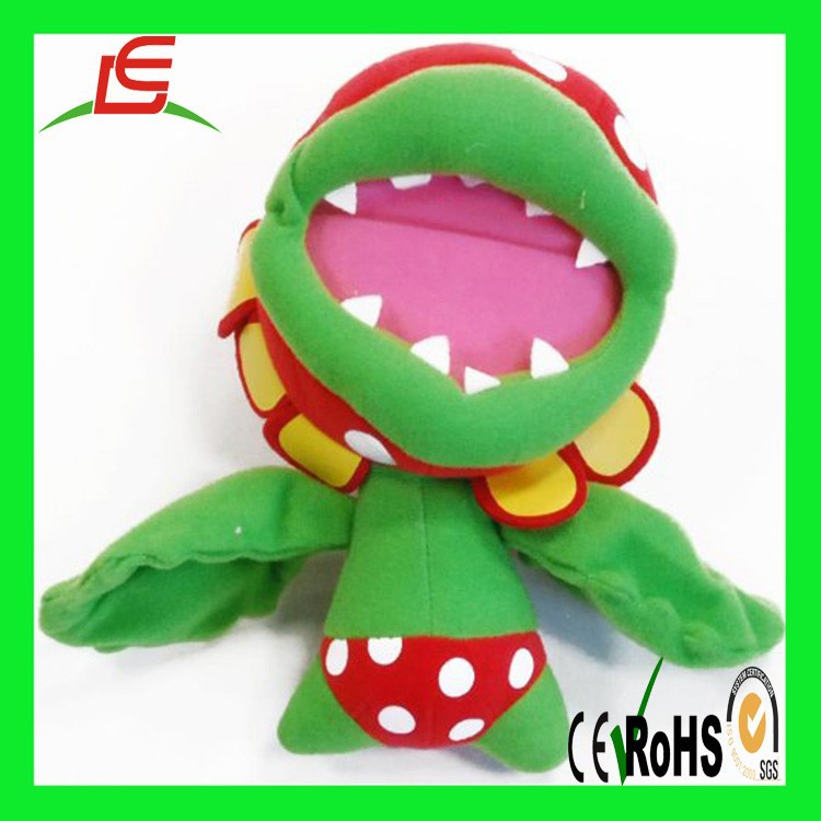 OEM Factory custom stuffed Sea Animals Piranha Fish Plush toy for children