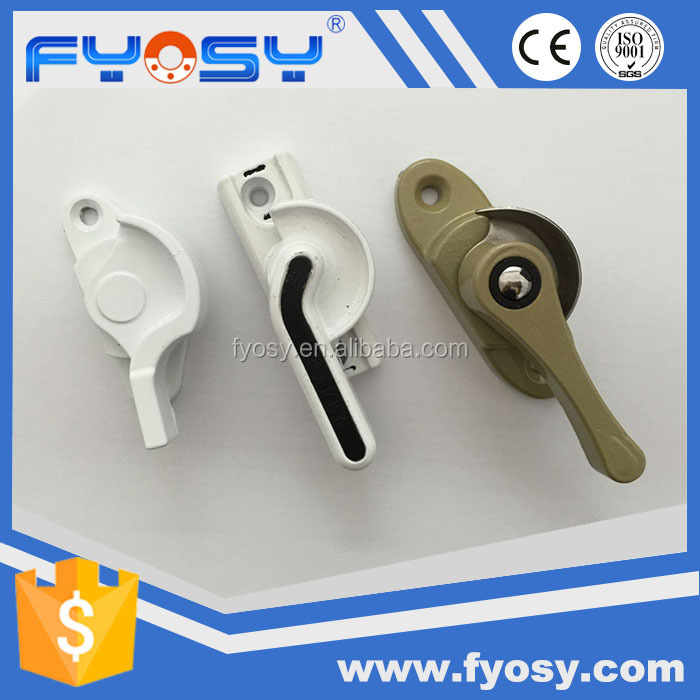 factory supply aluminium alloy window lock accessories sliding door and window handle