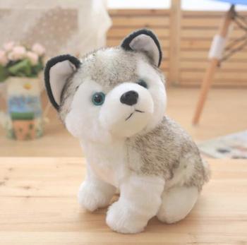 Icti Factory Stuffed Talking Singing Dog Toy Plush Husky Dog Toys