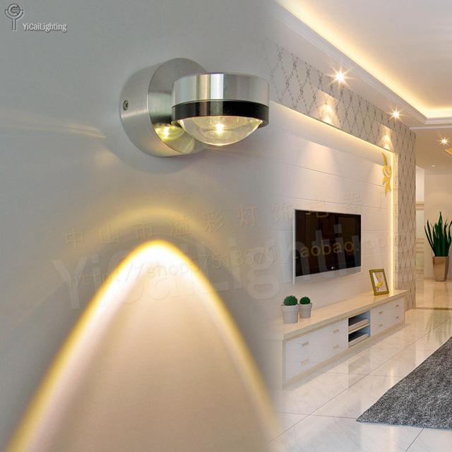 Ad alta efficienza energetica led faretti da parete bed for Led alta efficienza