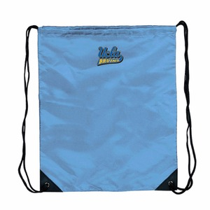 Light Blue Design Your Own Sport Sling Bag With Yellow Logo