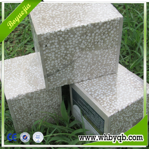 EPS foam concrete prefabricated residential houses 200mm
