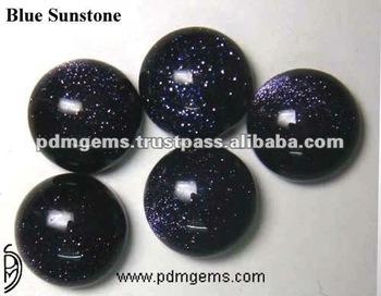 Blue Sunstone Cabochon Gemstone