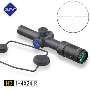 Discovery Grim lock HD1-4X24 E Hunting Rifle Scope/Long Eye Relief Clear Glass Scopes