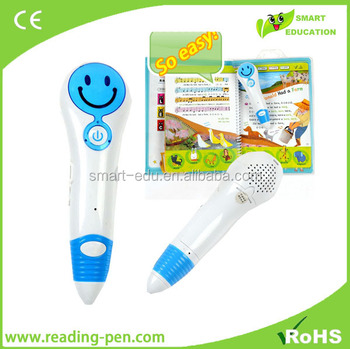 Hot selling language learning tool English books with magic talking pen