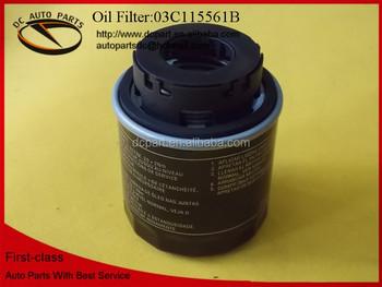 03c 115 561 B For Audi Ai Car Oil Filter