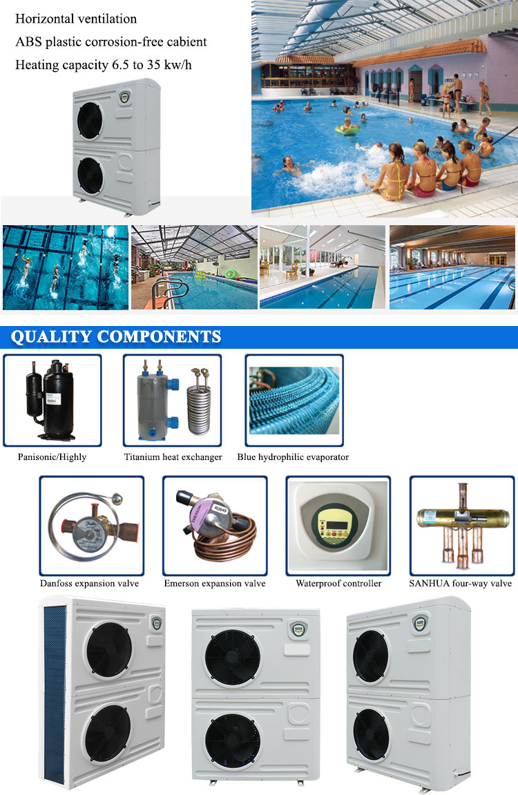 Altaqua 25kw/h swimming pool heating system heater