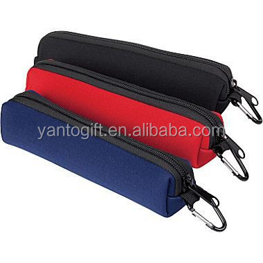 Cheap Neoprene Pencil Case with Zipper