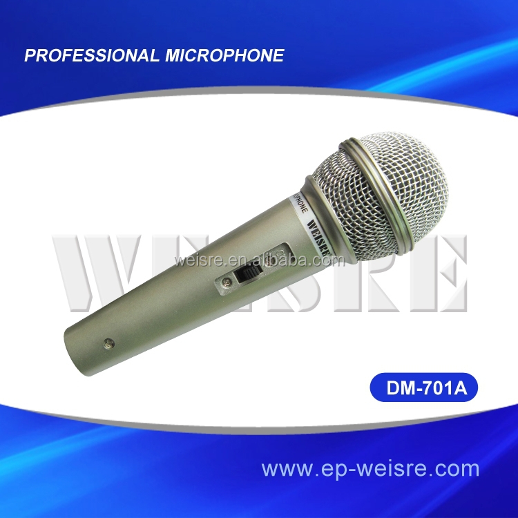 Professional dynamic microphone wired microphone