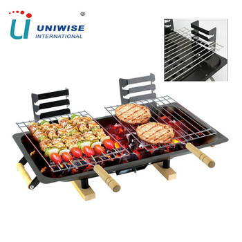 Table Top Homemade Cast Iron Charcoal Bbq Grill