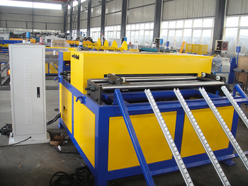 good machine/high quality square HVAC duct making machine---Auto Duct Line 4
