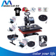 Maikesub cheap used combo heat press machine 8in1 digital combo heat press