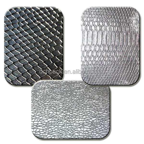 steel copper aluminum hair cell grain animal flower heating pressure embossing templates