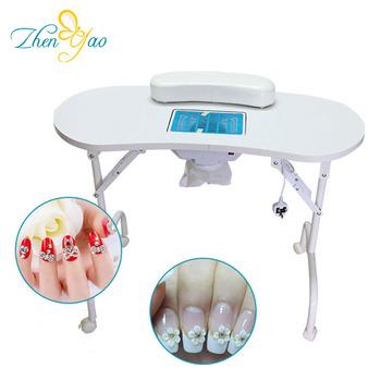 Manicure Bar Desk Nail Salon Station Technician Table For Sale