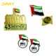 Custom UAE Flag National Day Badge,Souvenir Dubai Lapel Pin Badges
