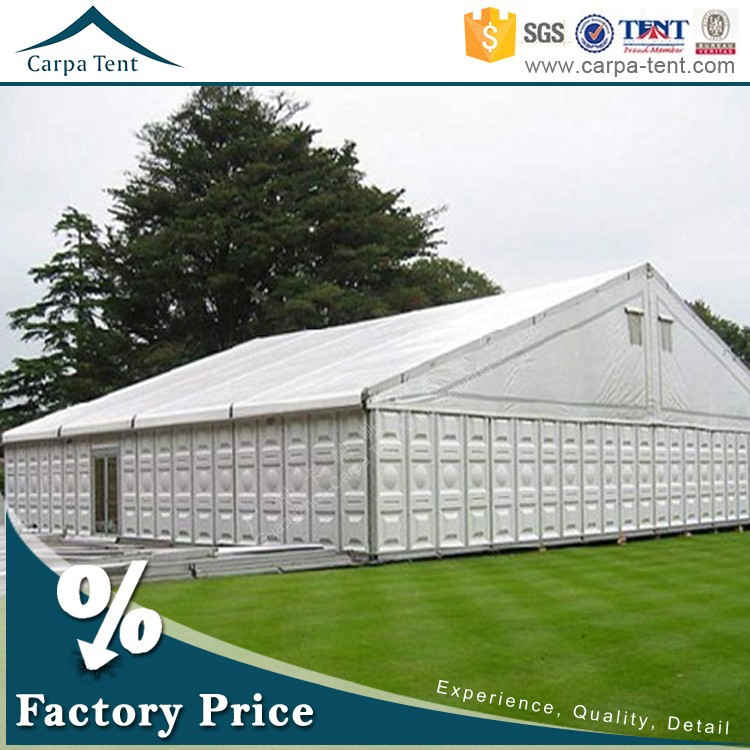 Aluminum Frame 10m*20m Commercial Party ABS Wall Marquee Tent Wholesale