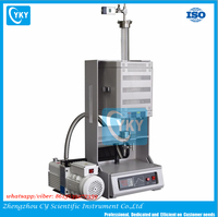 CE Certified 1100C Compact Laboratory Vertical Tube Furnace for Sale