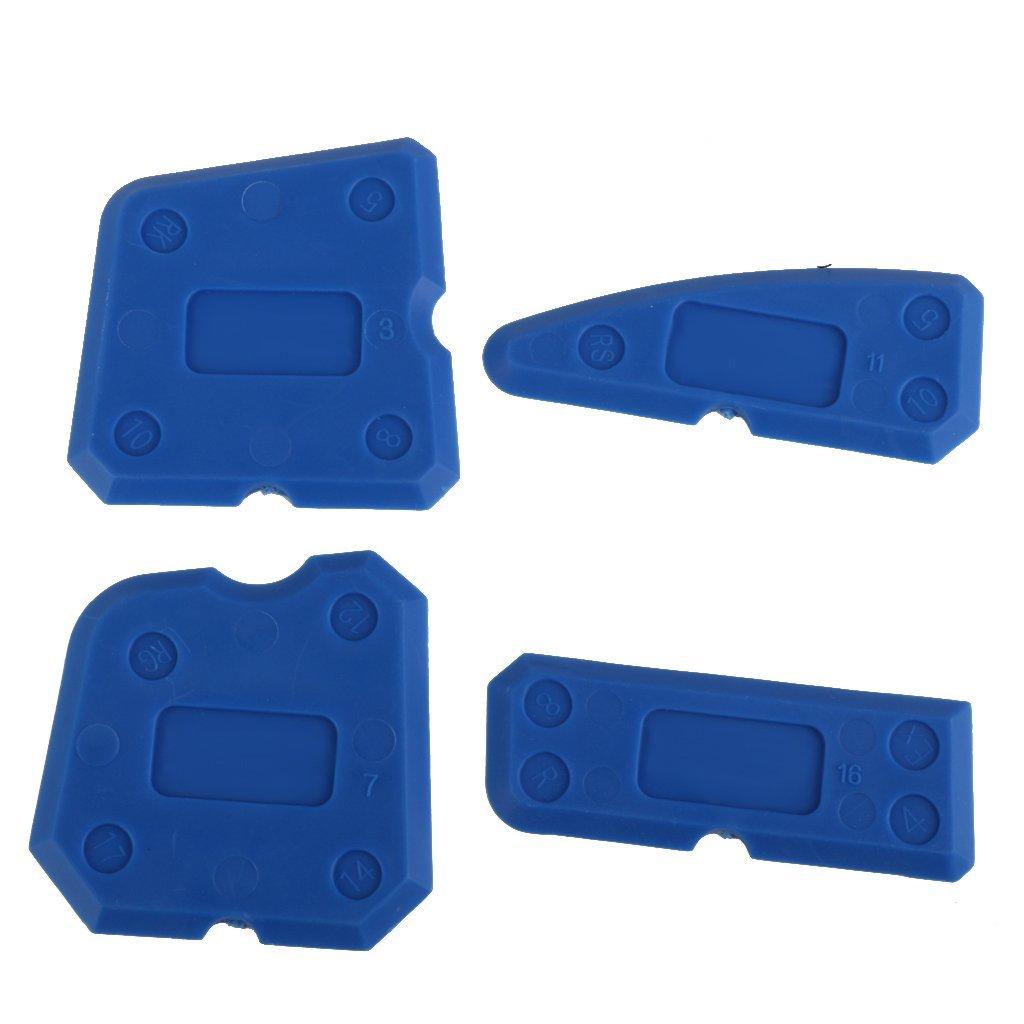 4pcs Sealing Tool Scraper Kit Joint Sealant Silicone Caulk Remover Sealant Finishing Tool Sealant Finisher Caulking Tool Kit Tools